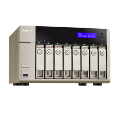QNAP TVS-863+-8G 8-Bay 8GB DDR3L NAS