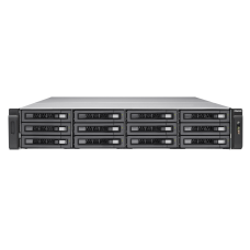 QNAP TVS-EC1280U-SAS-RP-16G-R2 12-Bay Rackmount NAS Integrated
