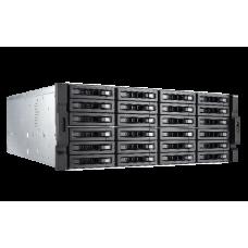 QNAP TVS-EC2480U-SAS-RP-16G-R2 24-Bay Rackmount NAS Diskless